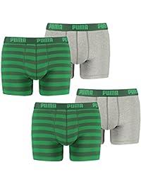 Puma Bodywear Stripe 15 - Bóxer para hombre (pack de 2)