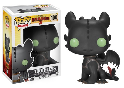 Funko Pop! Figurine Cinema How To Train Your Dragon 2 - Toothless (Black)