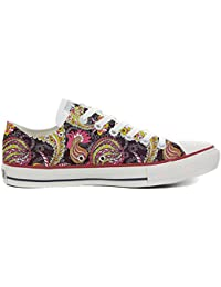 Converse All Star Chaussures Coutume (produit artisanal) Vintage Paysley