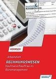 Rechnungswesen: Kaufmann/Kauffrau für Büromanagement: Arbeitsheft