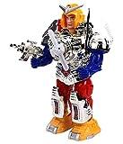 Sajani Combat Hero Robot with Music and Lights Face Changing Combat Hero Robot