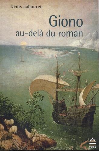 Giono au-del du roman