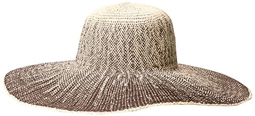 san-diego-hat-womens-ombre-paper-floppy-brown-one-size