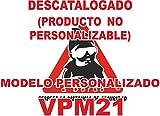 Pegatina bebé a bordo personalizada VPC21-2C. DISEÑO EXCLUSIVO. VENDIDO Y ENVIADO POR VPM ORIGINAL. PRODUCTO Y EMPRESA 100% DE ESPAÑA. NO COMPRES IMITACIONES A VENDEDORES CHINOS