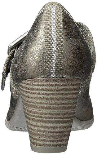 s.Oliver 24404, Escarpins Femme Argent (Pewter Metal.)