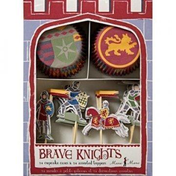 Chevaliers et Dragons Set Cupcake Birthday Party