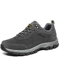Yajie-shoes Zapatos atléticos con Cordones Resistentes al Desgaste para Hombres