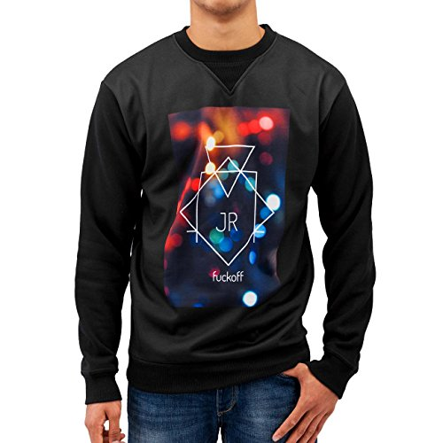 Just Rhyse Homme Hauts / Pullover Fuck Off Lights Noir