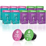 Gourmesso Coffret Lungo - 100 capsules de café compatibles Nespresso - Café équitable