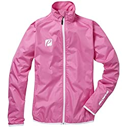 Chaqueta impermeable de ciclismo, de Elite Cycling Project, para mujer, modelo Typhoon, hombre, color rosa, tamaño Large