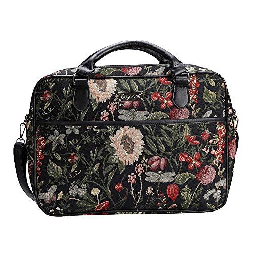 f6d15c62f3 Caratteristiche ed informazioni su signare borsa briefcase donna tessuto  stile arazzo ...