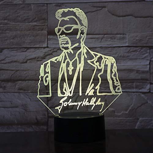 Mxlyr 3D Nachtlicht Lampe Illusion Led Usb Touch 7 Farben Wickeltisch Babybett Dekoration Led - Babybetten Wickeltische Und