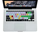 "XSKN Final Cut Pro X 10 Shortcuts Keyboard Skin Cover for 13"" 15"" 17"" MacBook, MacBook PRO, MacBook Air US EU Version"