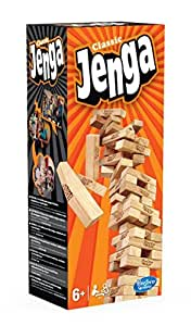 Hasbro Spiele A2120E24 – Jenga Classic, Kinderspiel