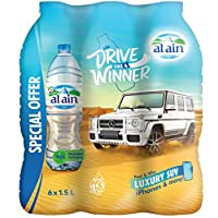 ALAIN DLAW Drinking Water, 1.5 Litre (Pack of 6)