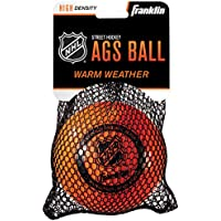 Franklin Streethockey Ball Ags High Density - Pelota/Disco de Hockey sobre Patines, Color Naranja