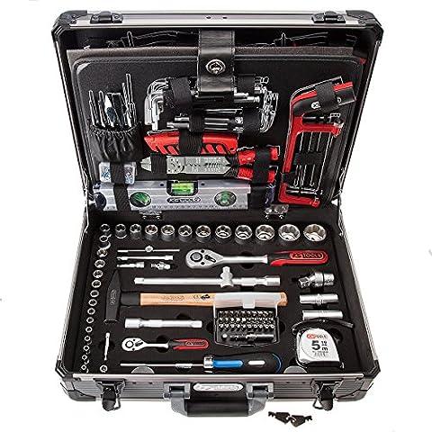 "KS Tools 911.0727 1/4"" +1/2"" Werkzeug-Satz, 127-tlg."