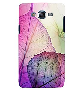 Citydreamz Pink Leaves/Nature Hard Polycarbonate Designer Back Case Cover For Samsung Galaxy J2 2016 Edition