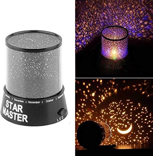 Gion Romantic Colourful Star Master Sky Projector Night Light Cosmos Lamp
