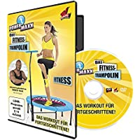 TV unser Original 00172 Power Maxx-Trampolin Fitness DVD d'exercices d'entraînement Langue allemande