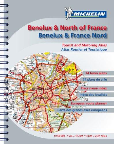 Atlas routier Benelux et France Nord
