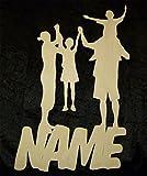 Familienbande mit deinem Familien Namen Familienschild Haustür Namensschild Familie Schild spruch