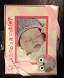 Baby Girl Frame, Pink-Stepping Stones