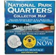 National Park Quarters Collector Map