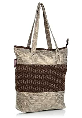 Home Heart Tote Bag (Gold) (3128)