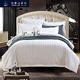 AZSUR Alle Baumwolle Vier Stück Set fünf Sterne Hotel Hotel Bettwäsche Bettwäsche Quilt, 2,0 m 6,6 Fuß Bett