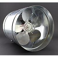 Ø 260mm ventilatore assiale tubo tubo Ventola IP44740m³/h WK ad alta pressione bassa pressione d' aria ventilatore di scarico geblaese metallo–Valvola radiale absaug Ventola aspirazione