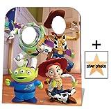 Fanbündel - Toy Story Stand-in (Child Size) Buzz, Woody and Jessie Lebensgrosse Pappfiguren / Stehplatzinhaber / Aufsteller - Enthält 8X10 (25X20Cm) starfoto