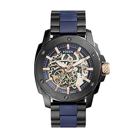 Fossil Herren-Uhren ME3133 (Herren Fossil Skelett)