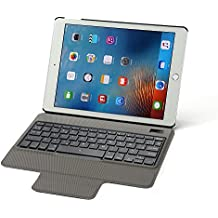 "Rii Funda con teclado Bluetooth para Apple iPad Pro 9.7"" (Version 2016 y anteriores) - (QWERTY layout español), color negro"