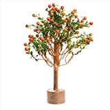 #4: JaipurCrafts Premium New Arrival Forever Collection Artificial Flowers with Pot