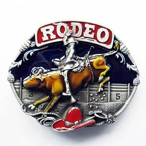 Buckle Bullen Reiten, Bull Riding, Rodeo, Western, Gürtelschnalle Gürtelschnalle Bull Riding