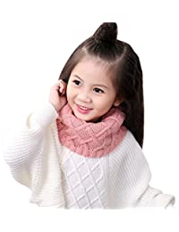 Lovely Kids Soft Winter Scarf Pompom Baby Scarf Boys Girls Warm Neck Scarves Knitting With Fur Ball Neckerchief Foulard Moderate Price Girl's Accessories Apparel Accessories