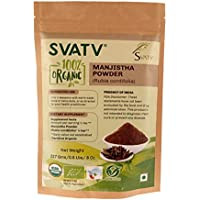 SVATV Manjishtha Pulver (Rubia Cordifolia) 1/2 LB, 08 oz, 227g USDA zertifiziert preisvergleich bei billige-tabletten.eu