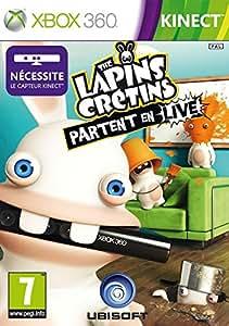 Les Lapins Crétins : partent en live (jeu Kinect)