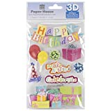 Paper House 3D Stickers 4.5