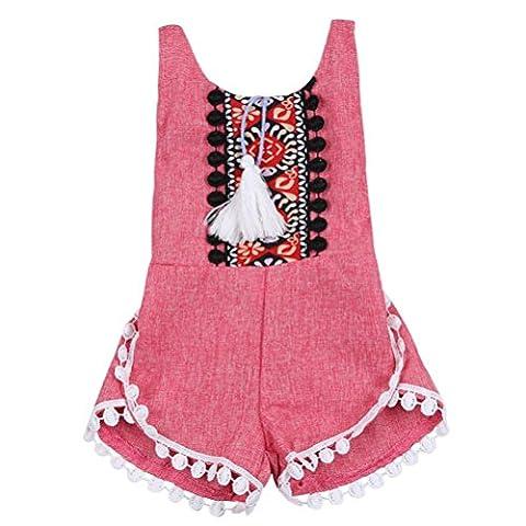 Cerf Costume Outfit - Vêtements pour bébés, Yogogo Été sans manches