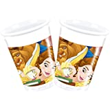 Procos Disney Beauty & The Beast Plastic Party Cups (8 Pack)