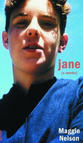 Jane: A Murder (Soft Skull ShortLit) (English Edition)