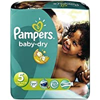 Pampers baby dry midpack changes x27 taille 5