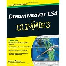 Dreamweaver CS4 For Dummies by Warner, Janine (2008) Paperback