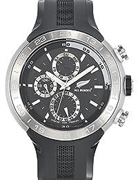 All Blacks - 680224 - Montre Homme - Quartz Analogique - Cadran Noir - Bracelet Plastique Noir