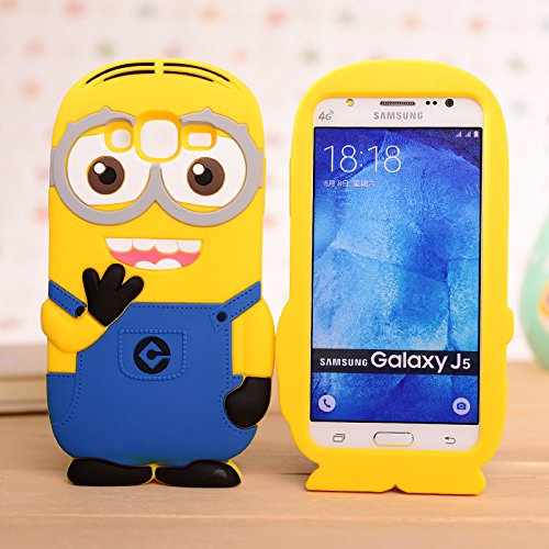 buy online 071e3 6aaaa Cute 3D Minions back cover for Samsung galaxy J7