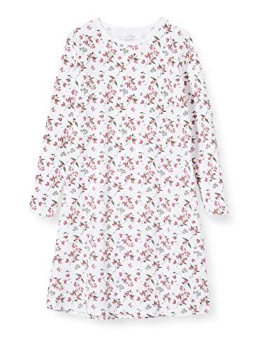 Name IT NOS Mädchen 13173281 Nachthemd, Mehrfarbig(Heather RoseHeather Rose), 110 (Herstellergröße: 110-116)