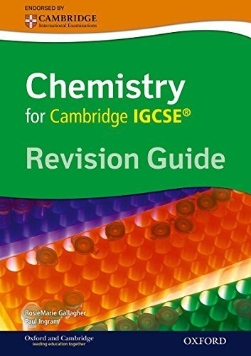 Cambridge Chemistry IGCSERG Revision Guide by Gallagher, Rosemarie, Ingram, Paul (2014) Paperback