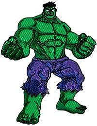 Avengers–Hulk–Parche para planchar bordados Patch–Aprox. 7X 9Cm